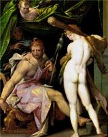 Геракл и Омфала (Б. Шпрангер)