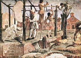 Месяц март (Франческо дель Косса, 1469-1470 г.)