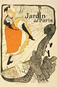 Жанна Арвиль (литография, 1893 г.)